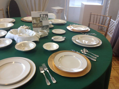 Party Plus Middletown Ivory Dishes