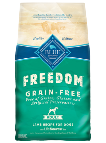 Blue Buffalo Freedom Grain Free Lamb Recipe, 11 and 24 pound bags