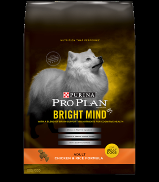 Purina Pro Plan Bright Mind Chicken and Rice Formula, 16 pound bag