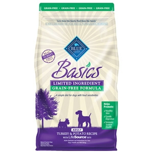 BLUE Basics® Grain-Free Turkey & Potato Recipe For Adult Dogs