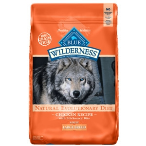 BLUE Wilderness® Chicken Recipe For Large Breed Adult Dogs