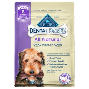BLUE Dental Bones for Dogs