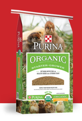 Purina Organic Chicken Feed Starter - Grower