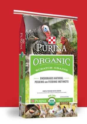 Purina Organic Scratch Grains