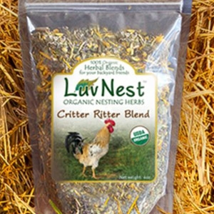 Luv Nest™ Critter Ritter Blend for Chickens