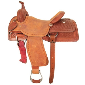 Ozark Saddle King Of Texas King Ranch Cutter Saddle
