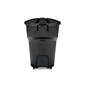 Rubbermaid 32 Gallon Roughneck Wheeled Refuse Trash Can