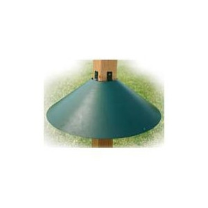 Audubon Wrap Around Post Mount Squirrel Baffle