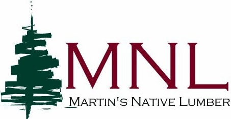 Martin's Native Lumber Logo