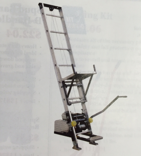 Platform Hoist/Ladder Lift
