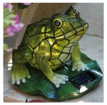 Sol Stained Glass Frog