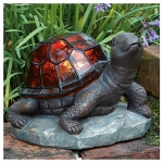 Sol Stain Glass Turtle