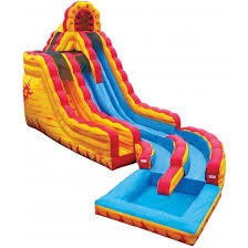 INFLATABLE WET/DRY SLIDE (FIRE-N-ICE)