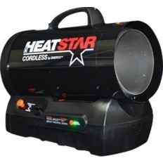 Cordless Forced Air Propane Heater