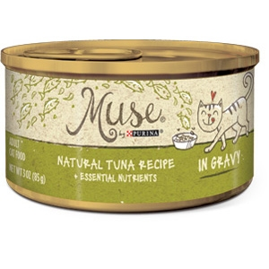 Purina® Muse® Natural Tuna Recipe Cat Food in Gravy- 10% OFF