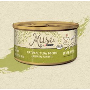 Purina Muse Natural Tuna Recipe in Gravy Adult Cat Food