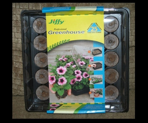 Jiffy Seed Starter-All In One Greenhouse (Includes 25 pellets)