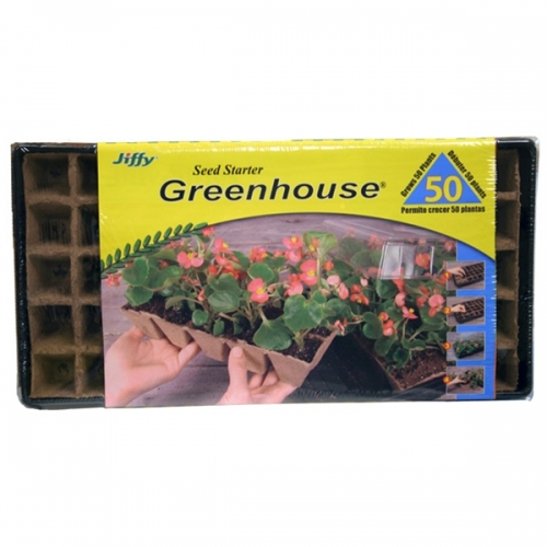 Jiffy Seed Starter Greenhouse (50 Cell)