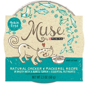 Purina Muse Natural Chicken & Mackerel Recipe Adult Cat Food