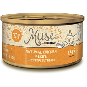 Purina Muse Natural Chicken Adult Cat Food Recipe