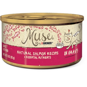 Purina Muse Natural Salmon Adult Cat Food Recipe