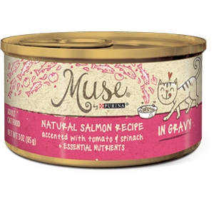 Purina Muse Salmon, Tomato, Spinach Adult Cat Food Recipe