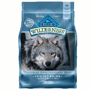 BLUE Wilderness Chicken Recipe for Adult Dogs