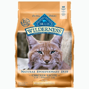 BLUE Wilderness Weight Control Chicken Recipe for Adult Cats
