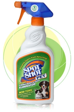 Spot Shot Pet Instant Carpet Stain and Odor Eliminator, 6 ounce spray