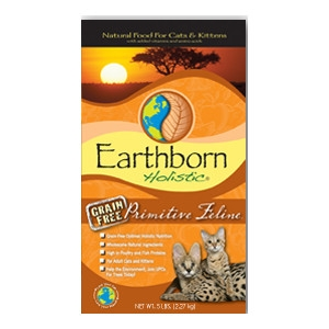 Earthborn Holistic Primitive Feline Natural Food for Cats & Kittens