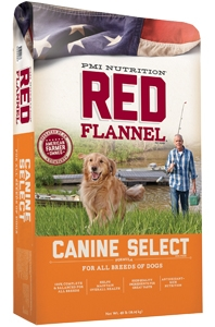 Red Flannel Select Formula for Dogs, 40 pound bag