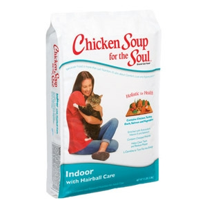 Chicken Soup for the Soul® Indoor with Hairball Care Dry Cat Food