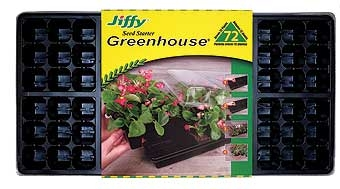 Jiffy 72 Plant Seed Starter Greenhouse