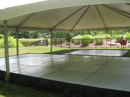 Frame Tent, 30'x45' Quick Track