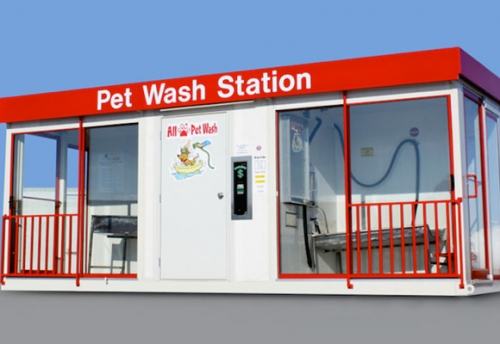 Pet Wash Station 1