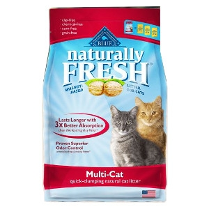 Blue Odor Control Multi- Cat Natural Cat Litter