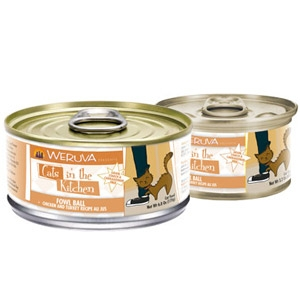 Weruva®  Cats in the Kitchen Fowl Ball Wet Cat Food 6 oz.