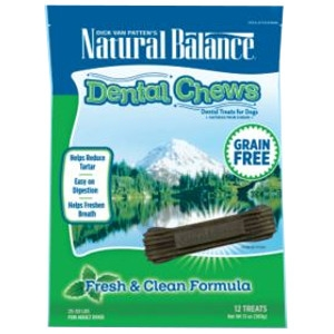 Natural Balance Dental Chews Fresh & Clean Formula