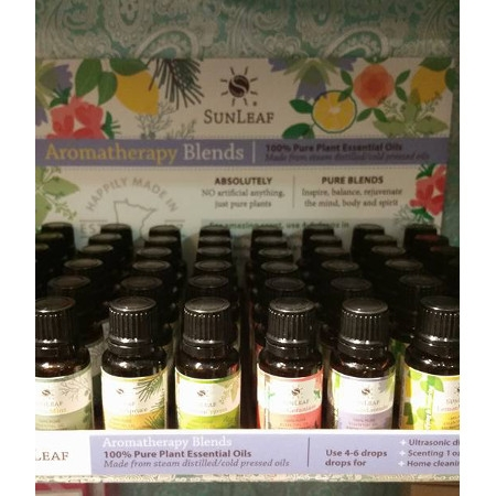 SunLeaf Naturals Aromatherapy Blends
