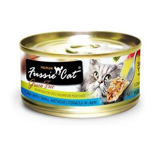 Fussie Cat® Chicken with Small Anchovies Wet Cat Food