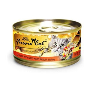 Fussie Cat® Chicken with Sweet Potato Wet Cat Food