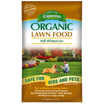 Espoma Fall Lawn Food, 30 lbs