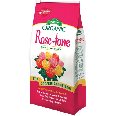 Espoma Organic Rose-tone Rose & Flower Food, 20 lbs