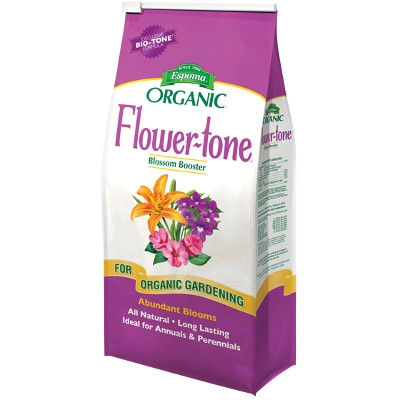 Espoma Organic Flower-tone Bloom Booster, 4 lbs