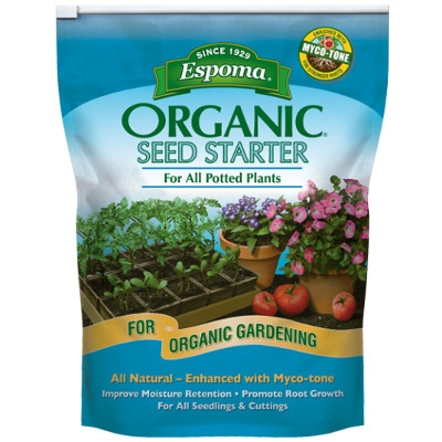Espoma Organic Seed Starter Mix for Potted Plants, 8 quarts