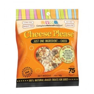 Complete Natural Nutrition Cheese Please Dog Treats 7oz