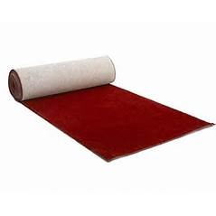 Red Carpet:  3' wide by 25' long