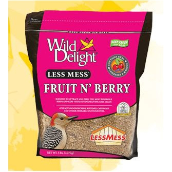 Wild Delight Less Mess Fruit N' Berry 5 Pound
