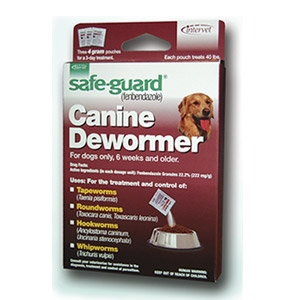 Safe-Guard® 4GM Canine Dewormer