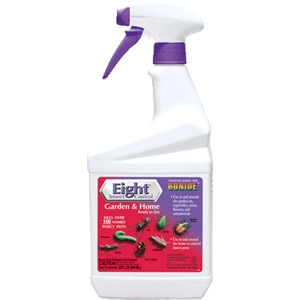Bonide Eight Garden & Home Insecticide Spray, 32 oz